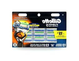 Gillette Fusion Proglide Razor Blades, 12 Cartridges - Free