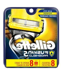 fusion proshield 8 pack cartridge refills razor
