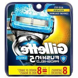 Gillette Fusion ProShield Chill Men's Razor Blade Refills, 8