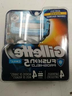 Gillette Fusion Proshield Chill Men's Razor Blade Refills -