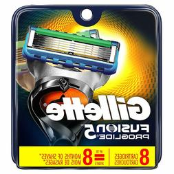 Gillette Fusion5 ProGlide Men's Razor Blades,8 Blade Refills
