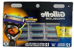 Gillette Fusion5 ProGlide Men's Razor Blades , 12 Blade Refi