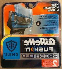fusion5 proshield chill razor blades
