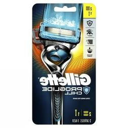 Gillette Fusion5 ProShield Men's Razor, Chill Handle & Blade