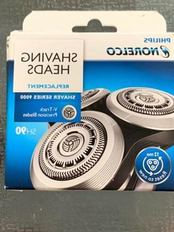 genuine sh90 replacement shaving heads razor blades