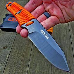 Gerber Bear Grylls Orange Paracord Wrapped Fixed Blade Survi