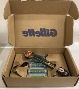 Gillett Fusion5 Proglide Men's Razor Handle + 4 Blade Refill