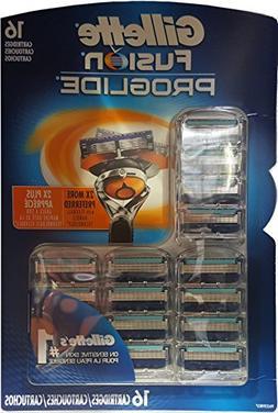 Gillette Fusion Proglide 16 Cartridges