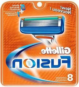 Gillette Fusion 8-Pack Razor Blades 100% ORIGINAL & GENUINE