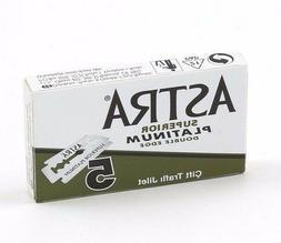 Astra Green Superior Platinum | Double Edge Razor Blades |