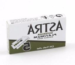 Astra Green Superior Platinum | Double Edge Razor Blades