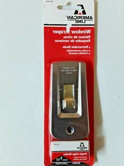 American Safety Razor 66-0445 Heavy-Duty Window Scraper with