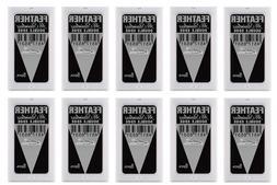 Feather Hi-Stainless Double Edge Razor Blades 5ct