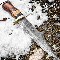 Timber Wolf Hittite Soldier Bowie Knife