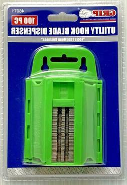 100pc GRIP Hook Utility Razor Blades Roofing Carpet Linoleum