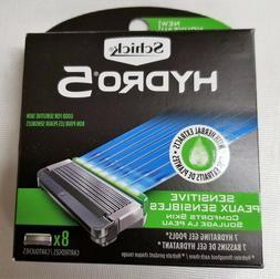 Brand New Schick Hydro 5 Sensitive 16  Cartridges