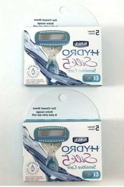 Schick Hydro Silk Sensitive Care Women 2X4 =8 Refill Cartrid