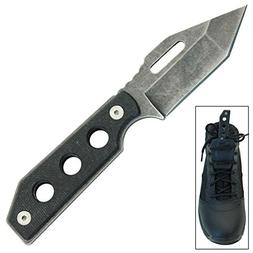 Internal Torment Fixed Blade Tactical Boot Knife