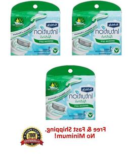 Schick Intuition Naturals Sensitive Care Razor Refill 3count