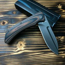 Ka-Bar 3066 Mark 98 Black/Brown G10 Handle Stainless Flipper