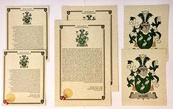 Kershaw - Last Name History and Coat of Arms from England Pr