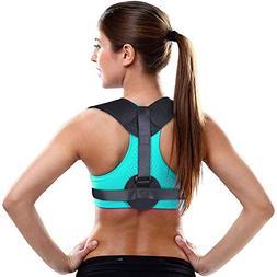 Aroamas Back Posture Corrector for Men & Women: Breathable S