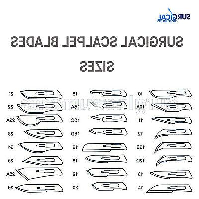10 #11 Scalpel Knife Handle Medical Dental
