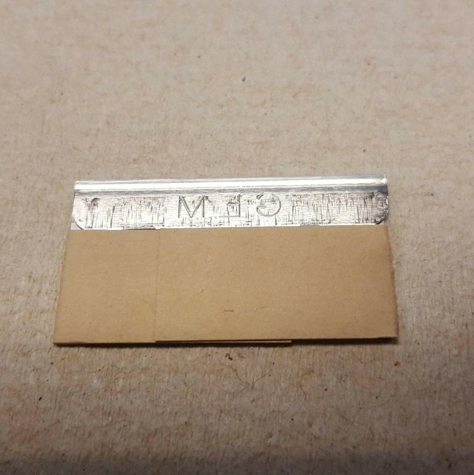 100 GEM Coated Stainless Edge USA Made