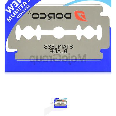 100 st300 double edge razor blades stainless