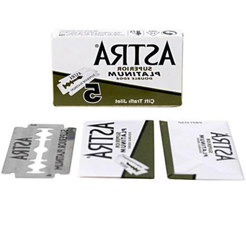 100 ASTRA Platinum Smooth Razor