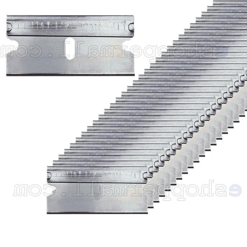 100pc razor blades single edge extra sharp