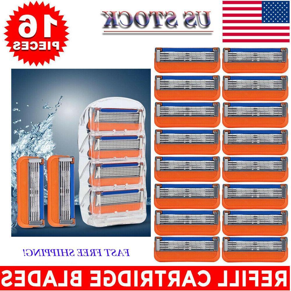 Gillette Fusion5 Men's Razor Blades - 16 Cartridge Refills ,