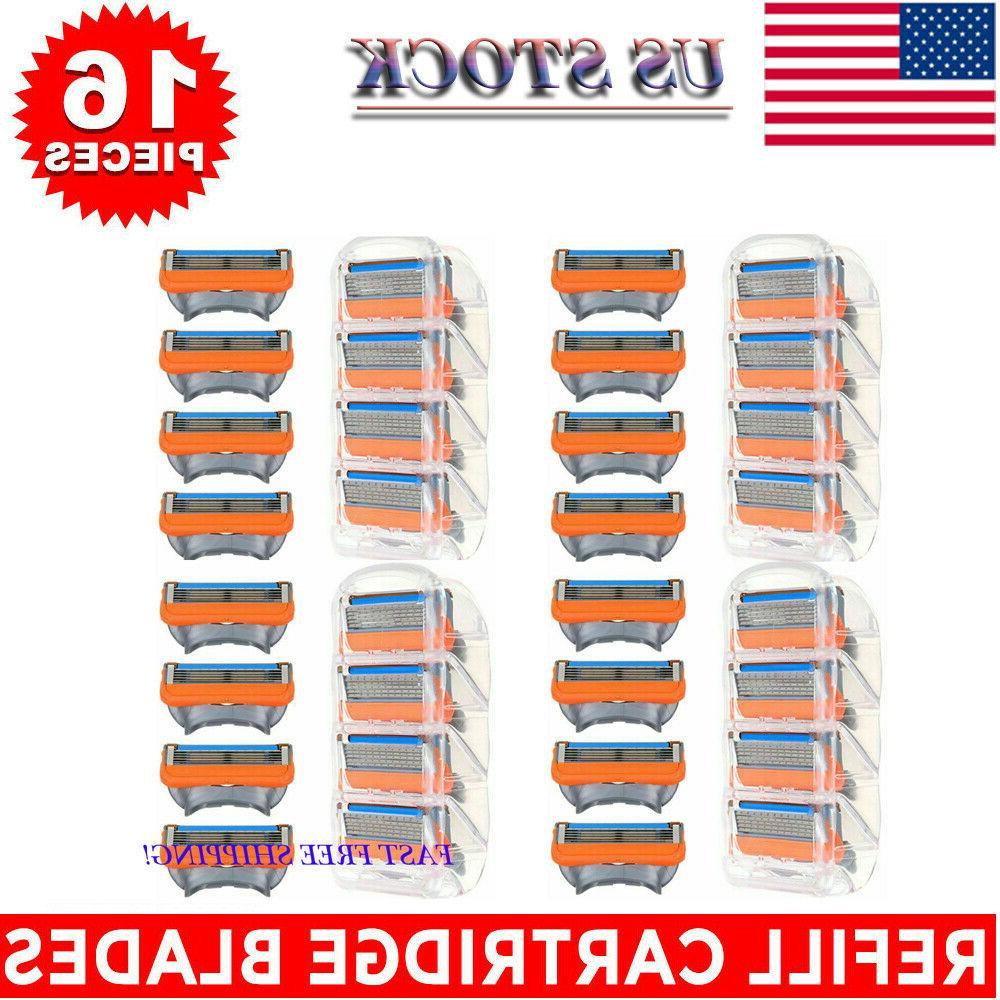 16PCS 5-Layer Men's Refills Orange