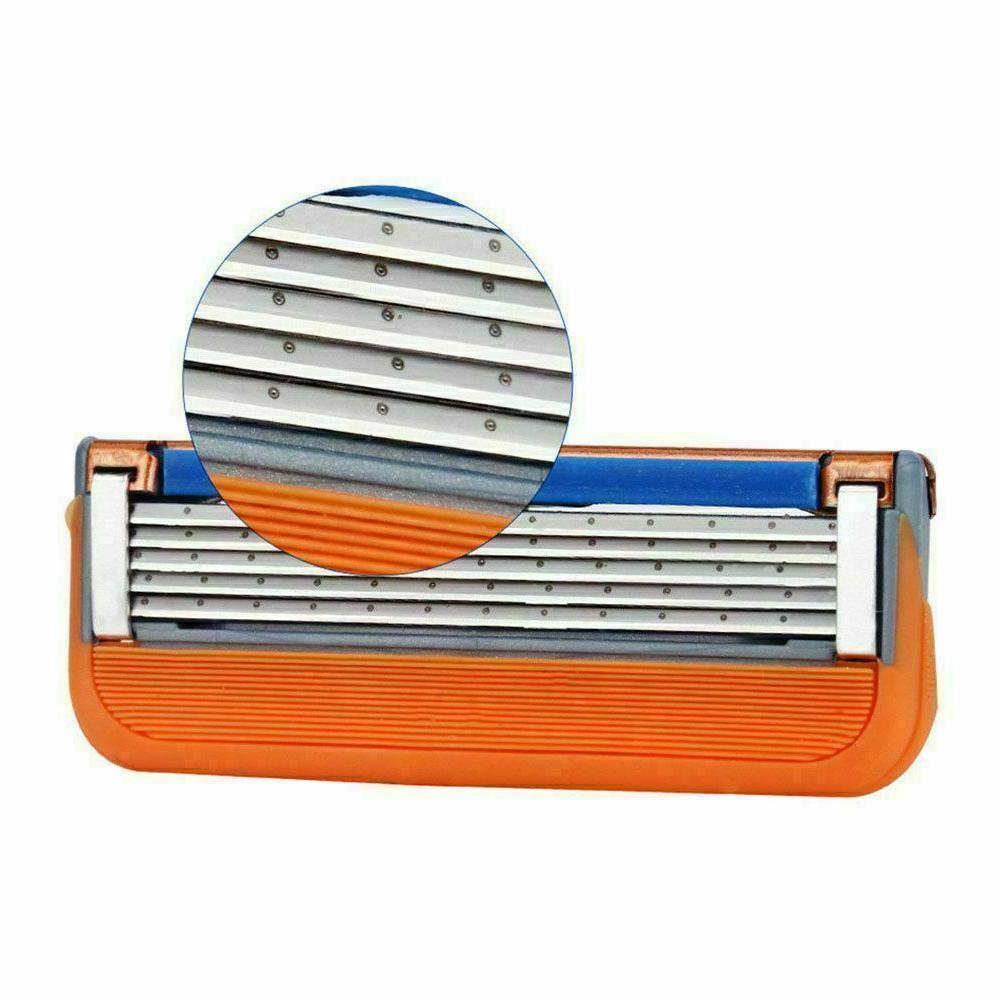 16PCS Gillette 5-Layer Men's Refills Orange Replacement