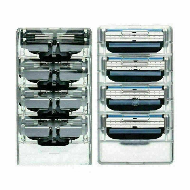 16PCS Mens Gillette 3 Cartridges Razor Fusion Shaver Refills