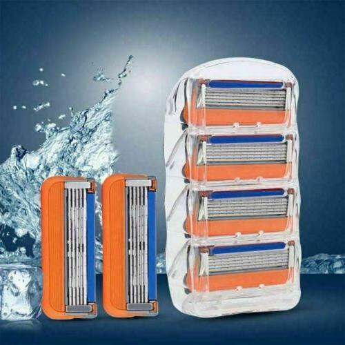 16Pcs Shaver Blade Gillette Fusion Razor Cartridges 5-layer