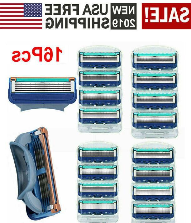 16pcs shaver blades for gillette fusion razor