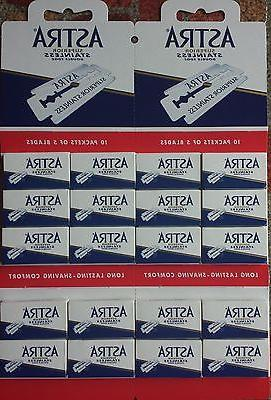 200 Astra Superior Double Edge Blades - FAST Shipping