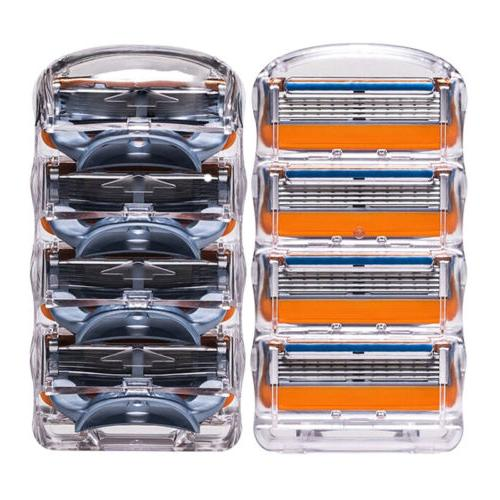 8PCS/Set 5 layer Man Shaving Razor Refills Cartridge Blades