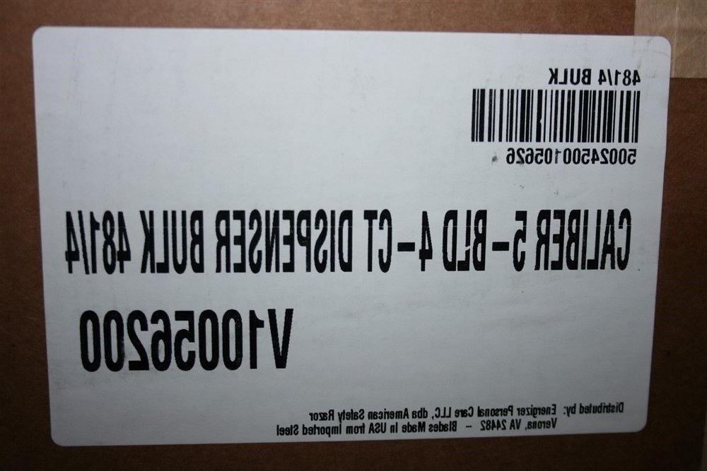 24 Fit Quattro Trimmer Razor Blades Cartridge