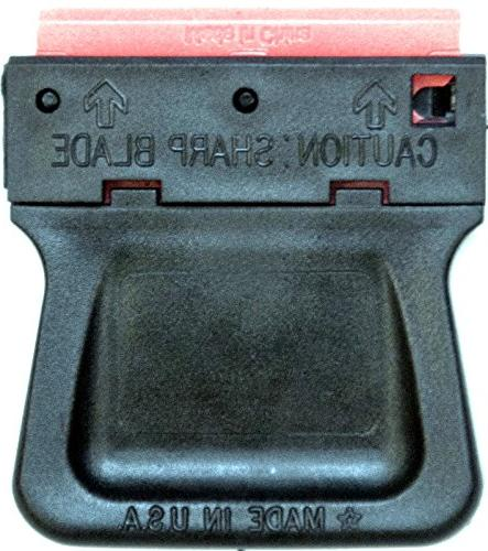 25 Plastic Double Edged Razor Scraper & Mini Combo
