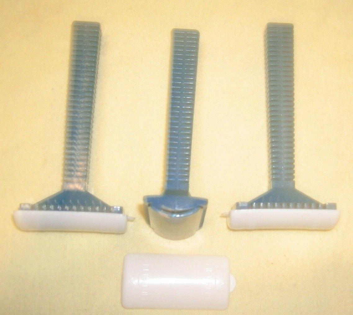 3 New Prep Steel Blade Razors Medical Products