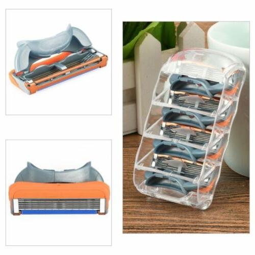 16pcs 5-layer Men's Blades for Gillette Fusion Orange US