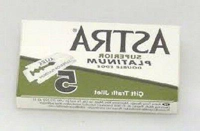 50 ASTRA DOUBLE BLADES SELLER
