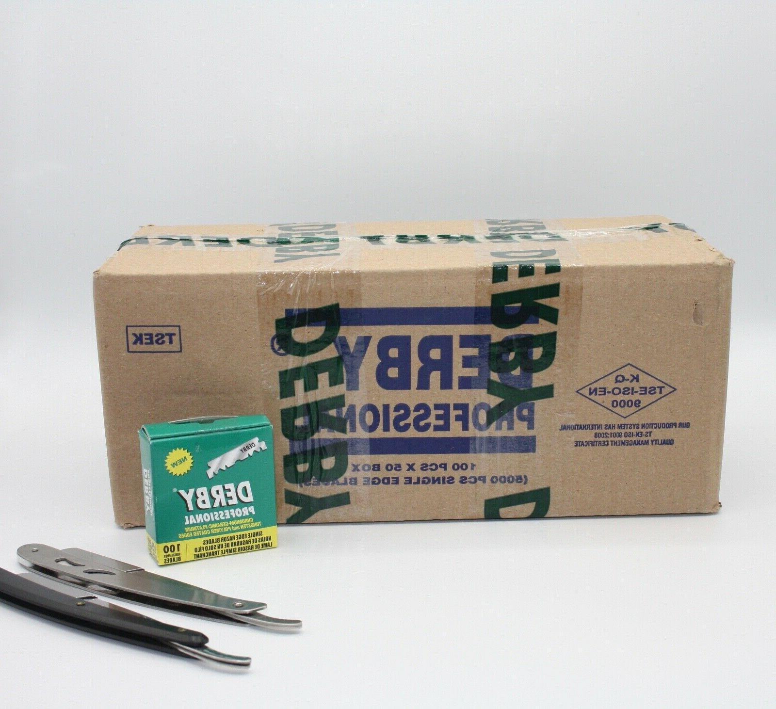 5000ct 50 packs professional single edge razor