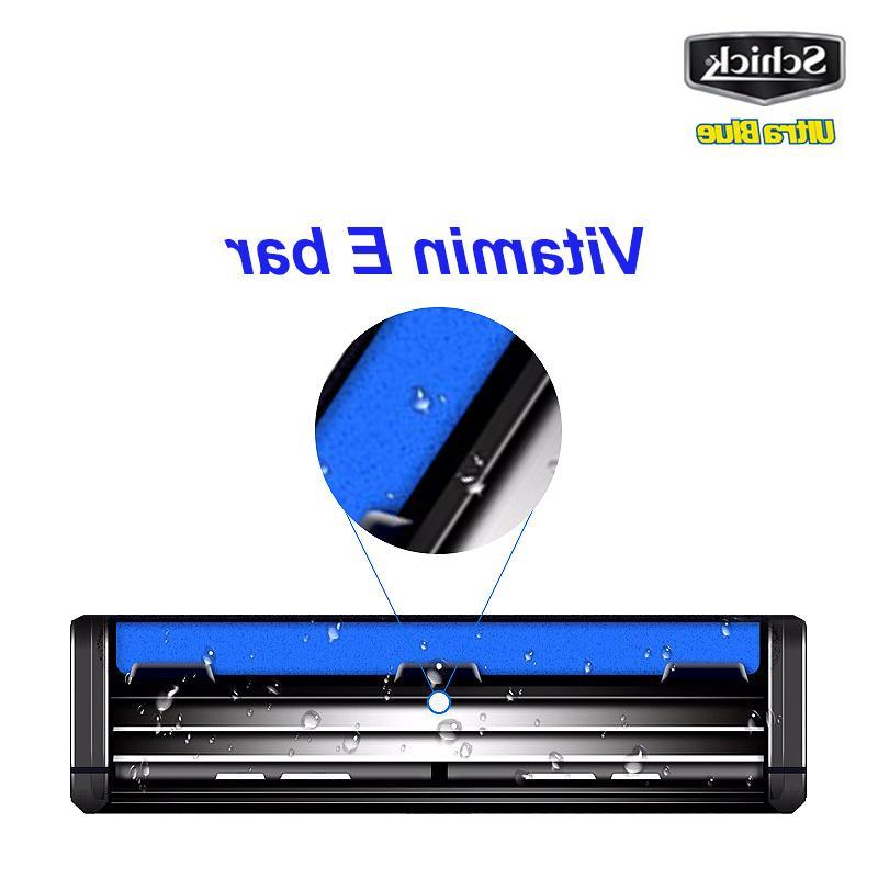 6 <font><b>blades</b></font>/lot Genuine Blue <font><b>razor</b></font> <font><b>blades</b></font> man best shaving E