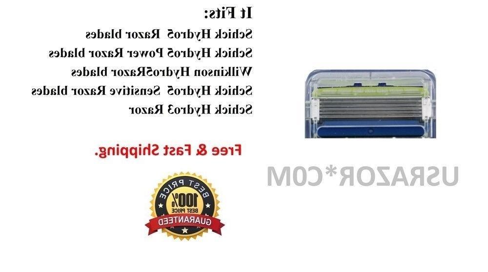 8 Schick Hydro5 Razor fit Hydro5 Power Refill