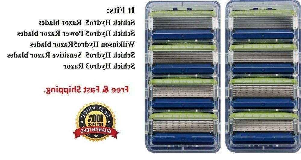 8 hydro5 sensitive razor blades fit hydro5