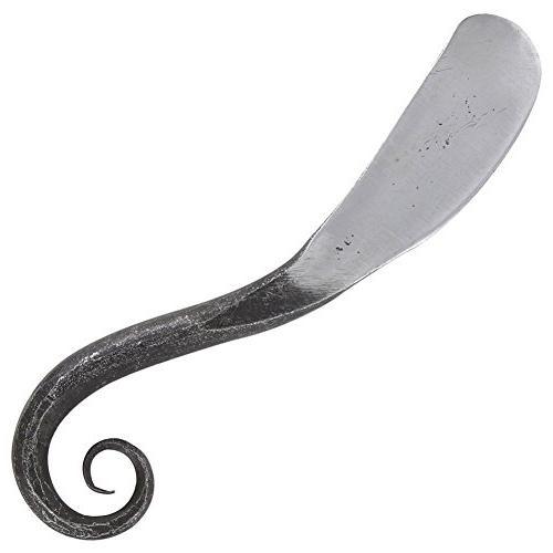 Ceremonial Swirl Ye Olde Hand Forged Iron Shaving Knife