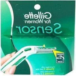 Gilete Sensor for Women - 10 Cartridges with Vitamin E and a